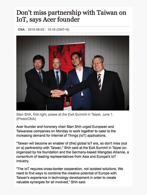 Want China Times (English), 02.06.2015 → READ