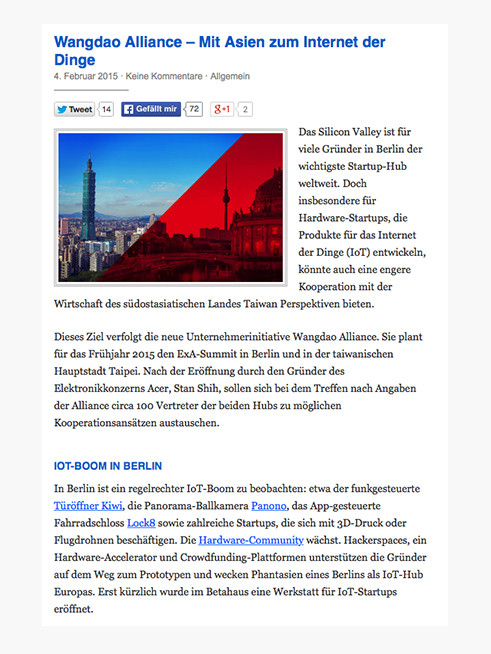 Berliner Morgenpost (German), 04.02.2015 → READ