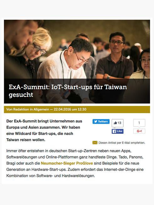 Wirtschafts Woche (German), 22.04.2016   → READ