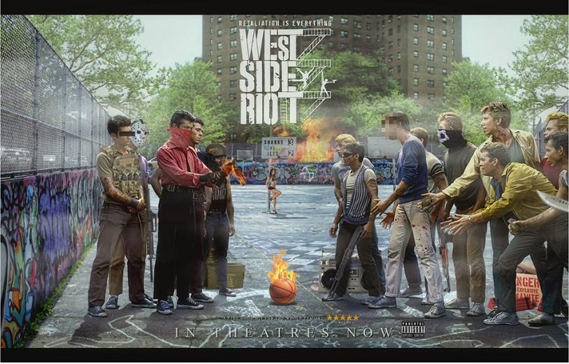West Side Riot by JJ Adams