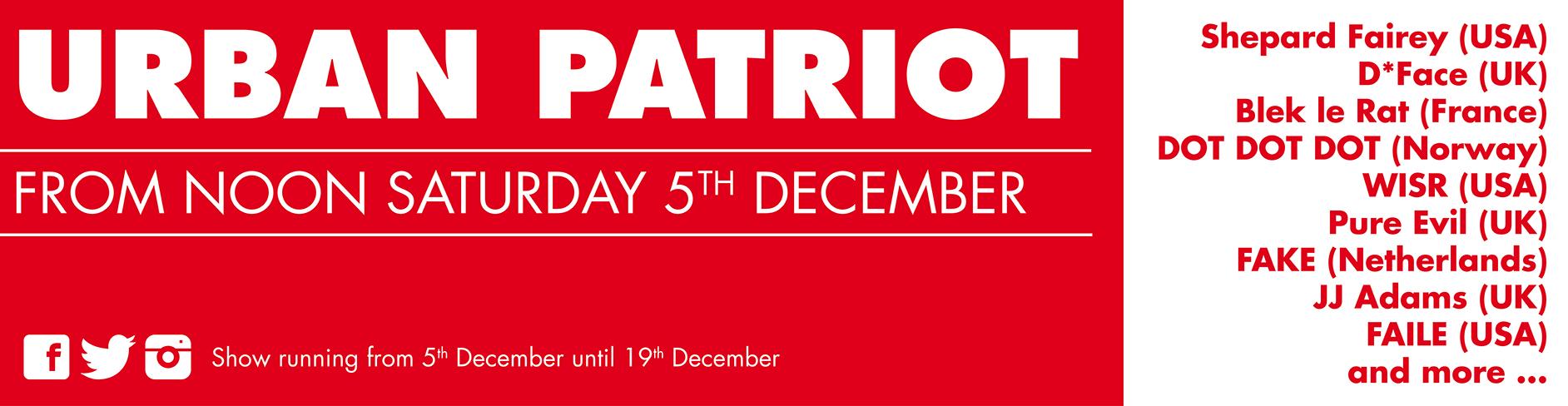 Urban Patriot Exhibition