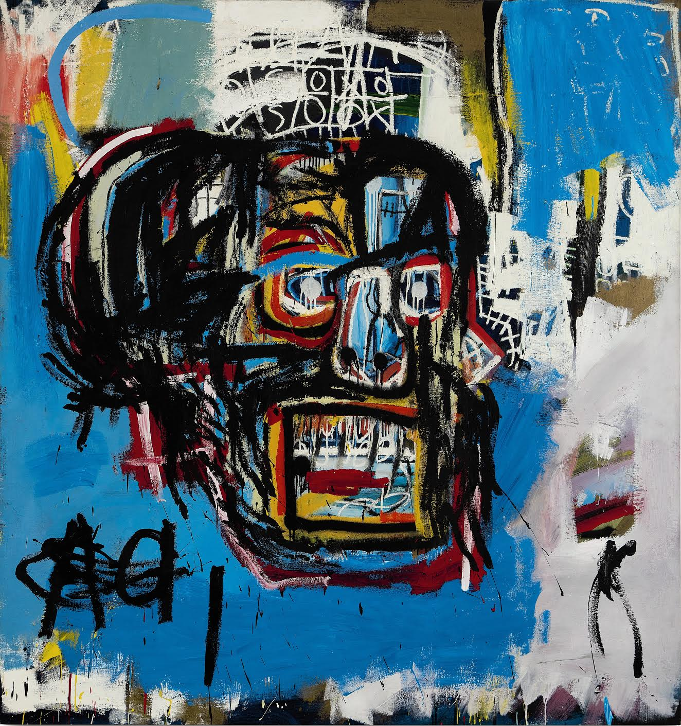 'Untitled' (1982) by Jean-Michael Basquiat rewrites the history books.