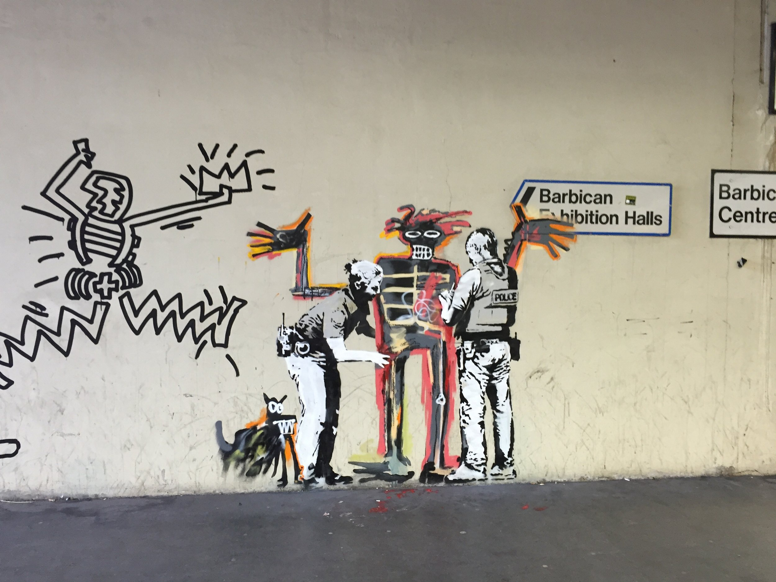 Discussions are being made to preserve the new murals to avoid further defacing.