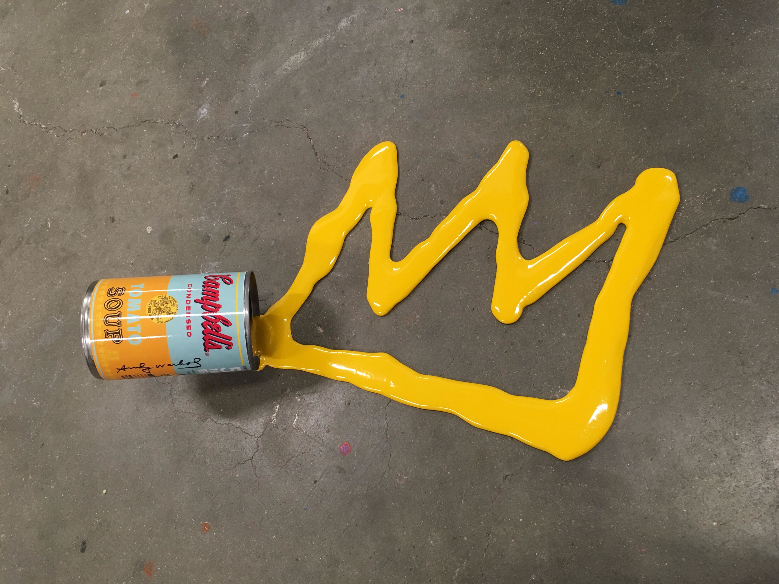 'Happy Accident - Warhol / Basquiat'