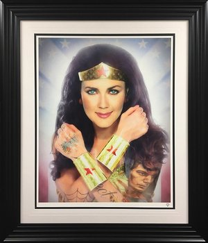 JJ Adams, Wonder Woman (colour), signed limited edition of 95. Price: £540