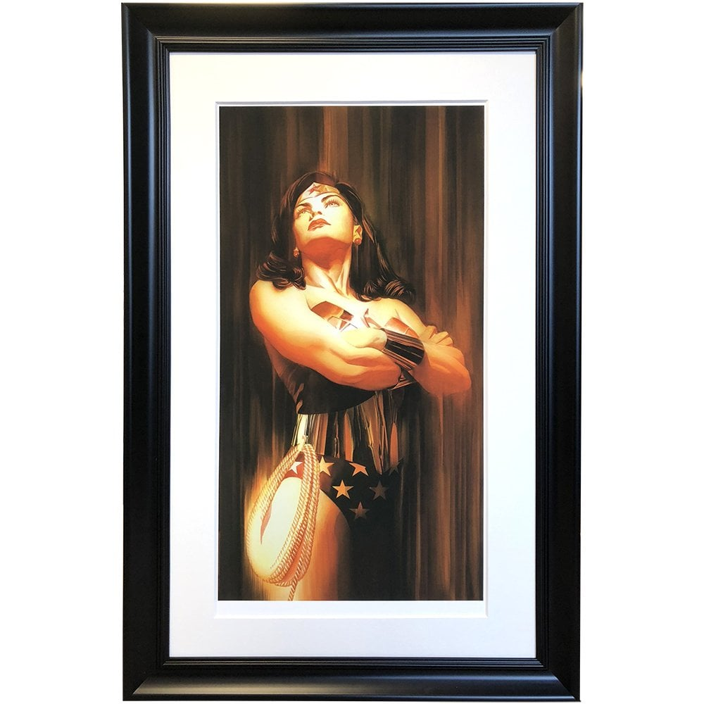 One of the world's most preeminent and well-respected comic book artists, ALEX ROSS now available at Reem Gallery. View the 'Shadows Collection' here.