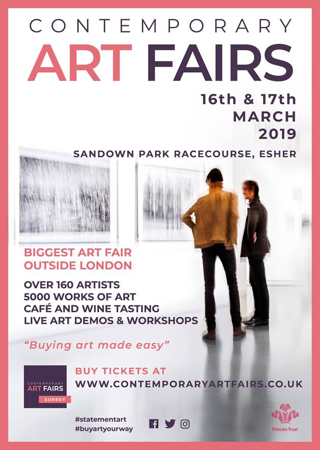 Join us at stand #122 for this year's Surrey Contemporary Art Fair. Complimentary tickets available in the gallery now.