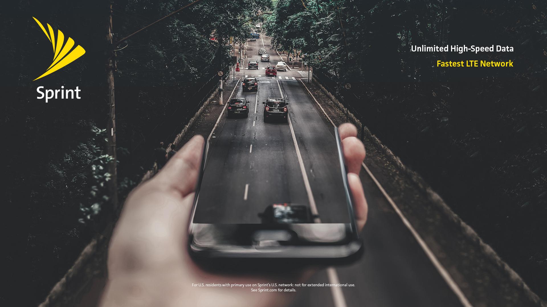 Sprint – Unlimited High-Speed Data