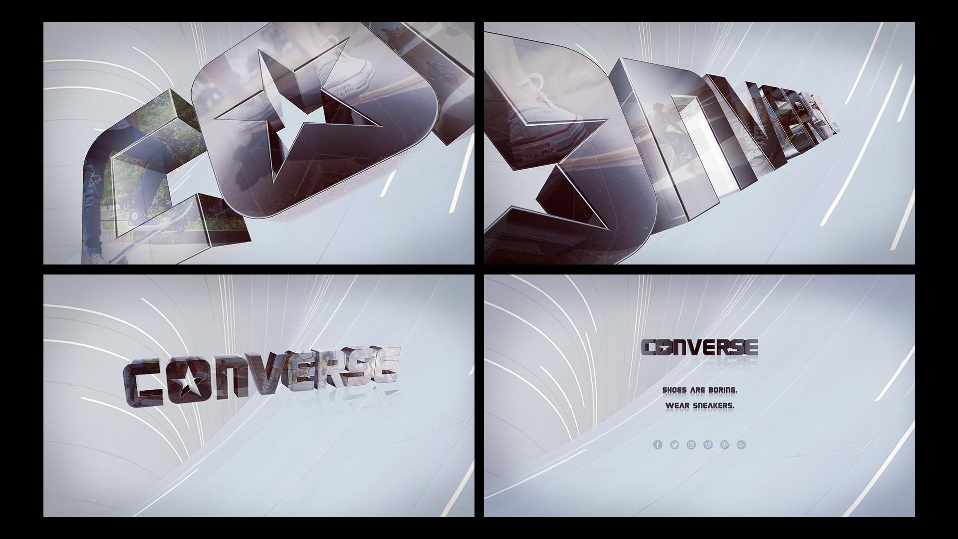 Converse – 3D Logo Reveal