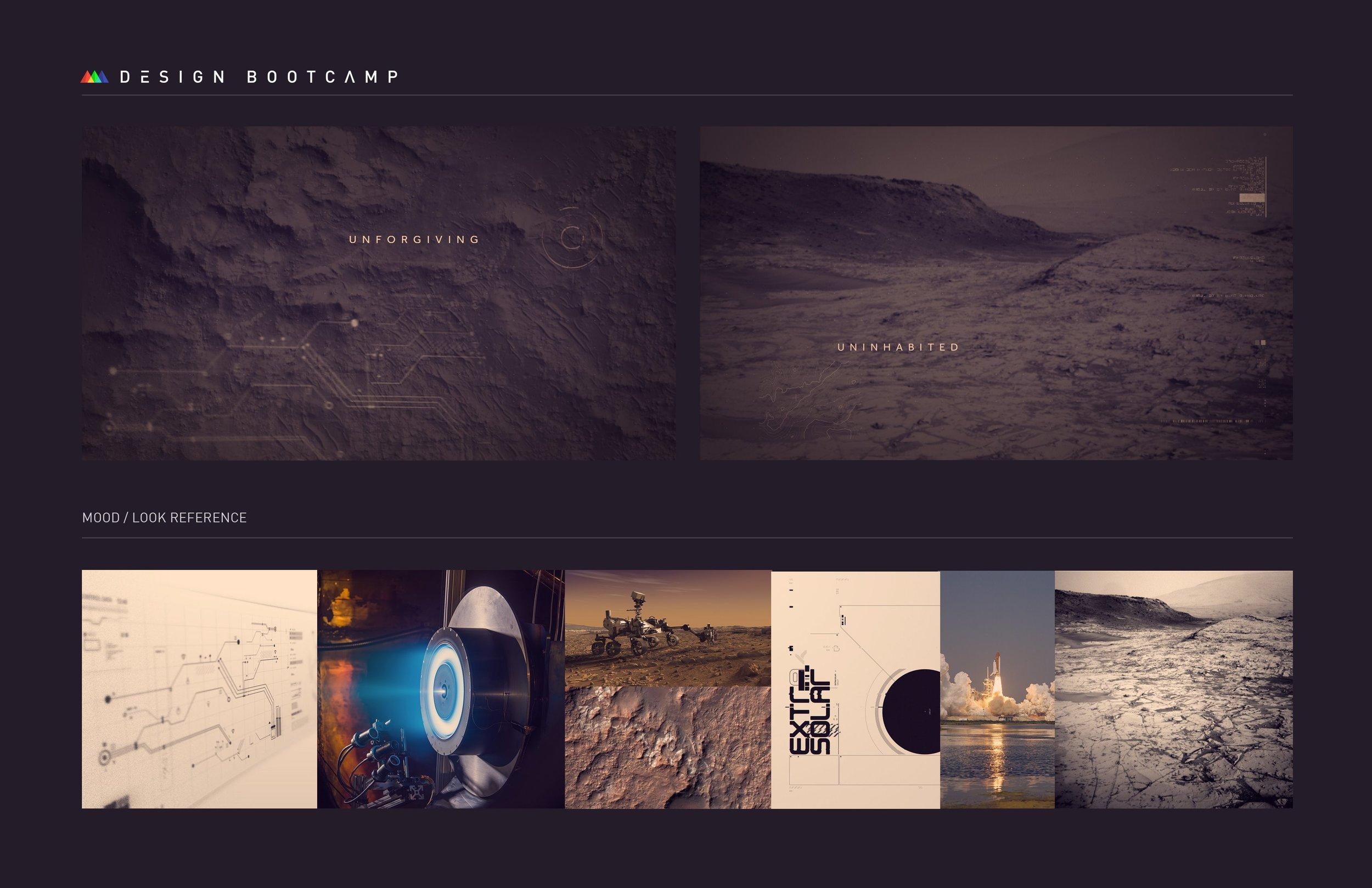 NASA – Expedition 100: Mission to Mars, Mood Board
