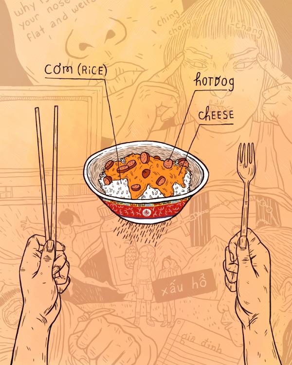 "Kim Nguyen.  American Rice . Digital. 8""x10"""