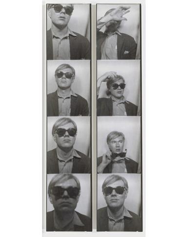 "Andy Warhol ""Self Portrait"""