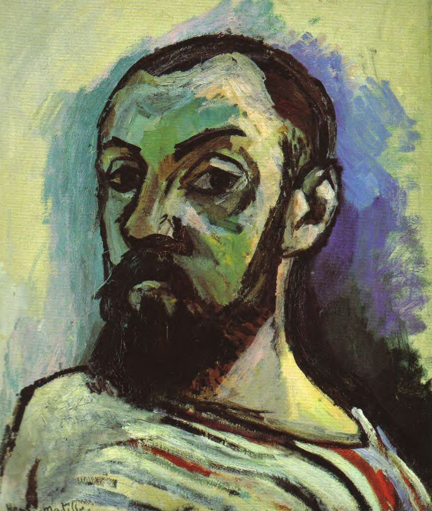 """Henri Matisse """"Self Portrait in a Striped T-Shirt"""""""