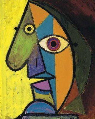 """Pablo Picasso """"Self Portrait"""""""