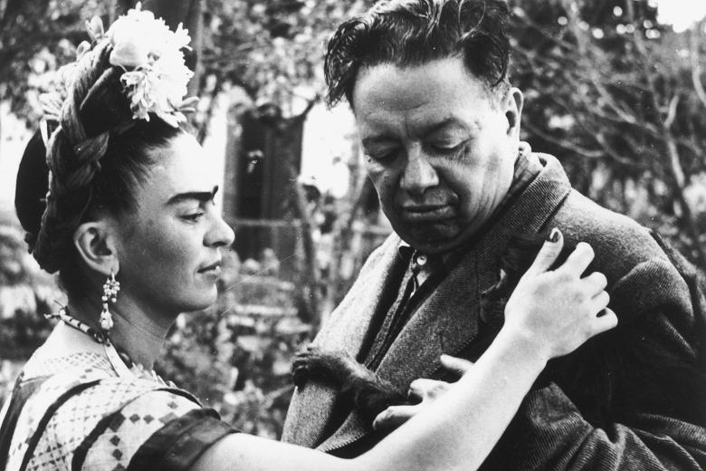 6. Frida Kahlo and Diego Rivera