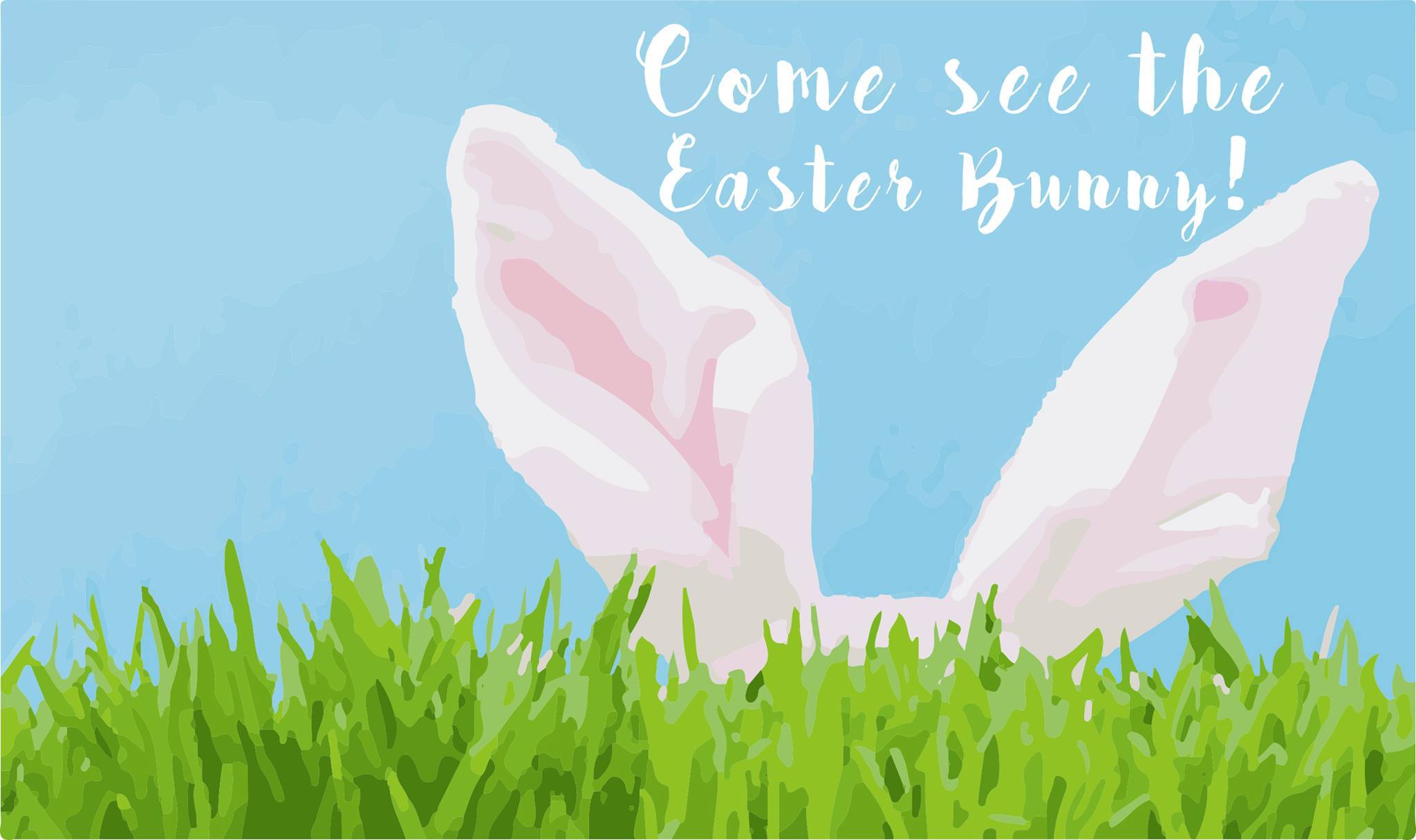 Come see the Easter Bunny!