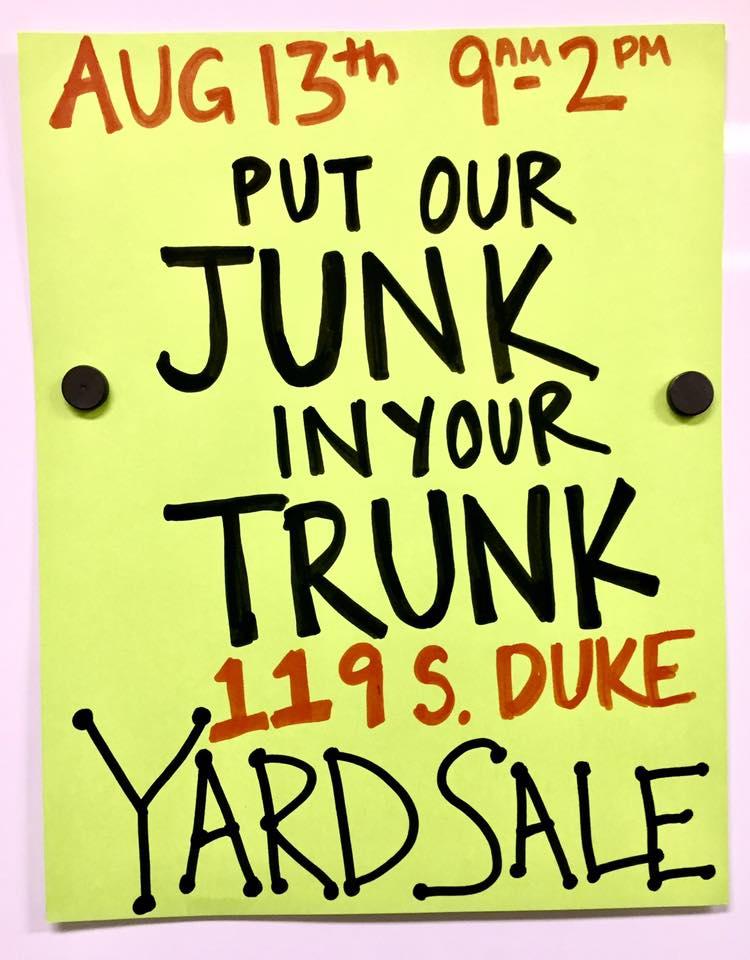 Downtown Yard Sale