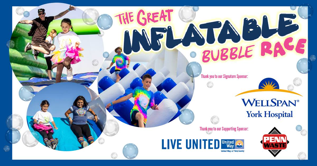 Great Inflatable Bubble Race