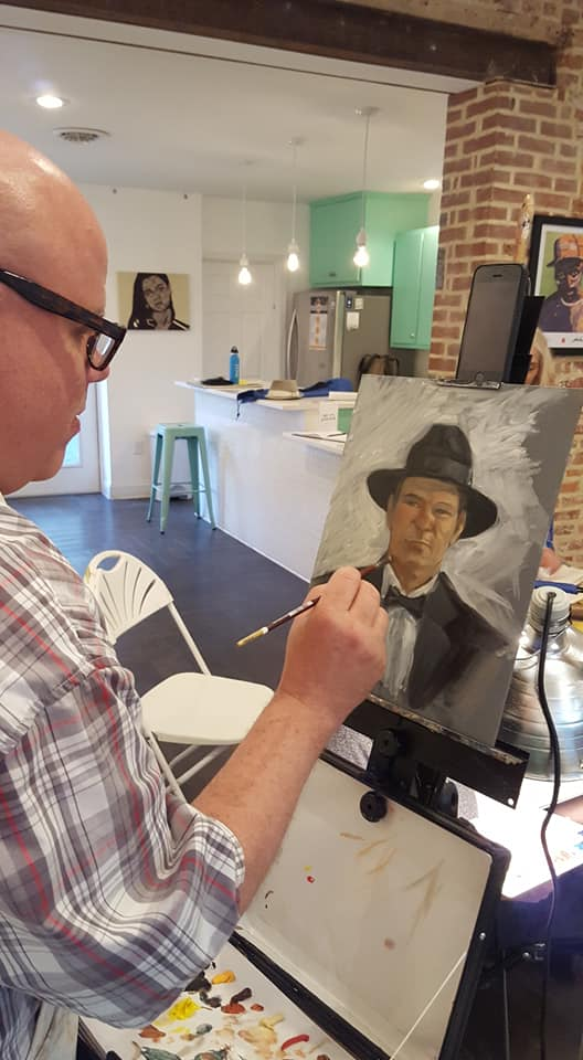 Figure Drawing Class - This weekly class provides a space and live model for artists to paint, draw, or sketch at an affordable price! Class is held every Wednesday from 6 - 8 pm for $10 per artist.