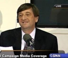 Mark hosts a live C-SPAN debate