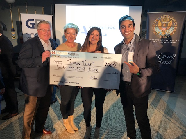Tampon Tribe — 2018 JCW Seattle Alumni Pitch Competition Winners