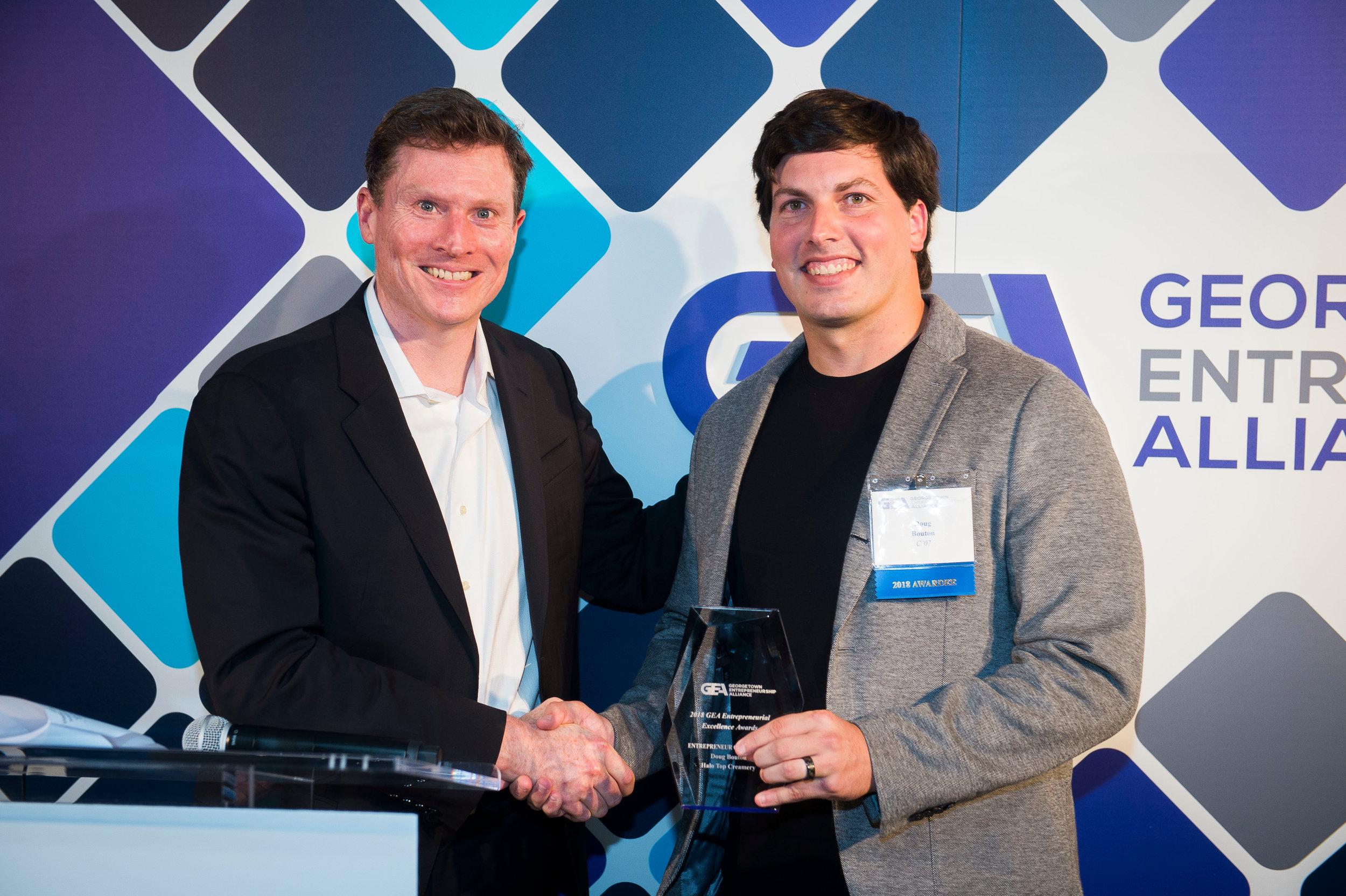 Doug Bouton (C'07), President & COO, Halo Top Creamery — 2018 Entrepreneur of the Year