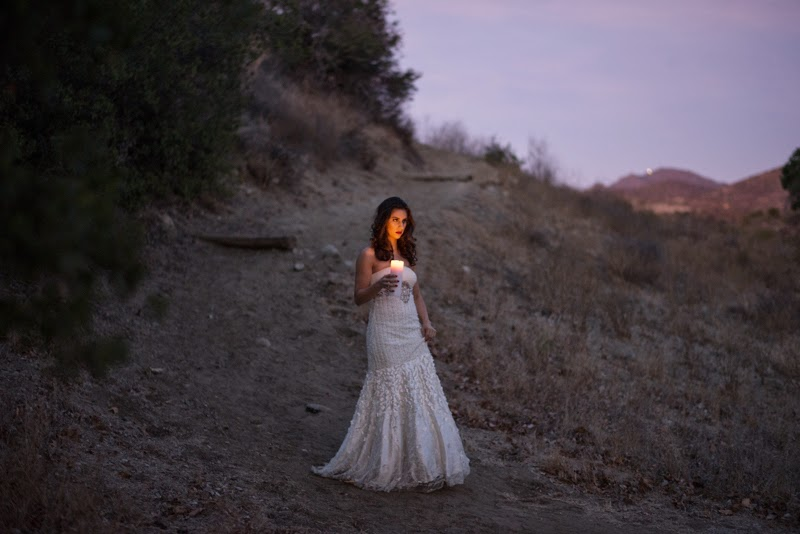 White Dress Candle Dusk.jpg