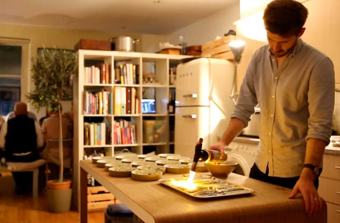 Supper Club Host Gabriel Waterhouse for Monocle