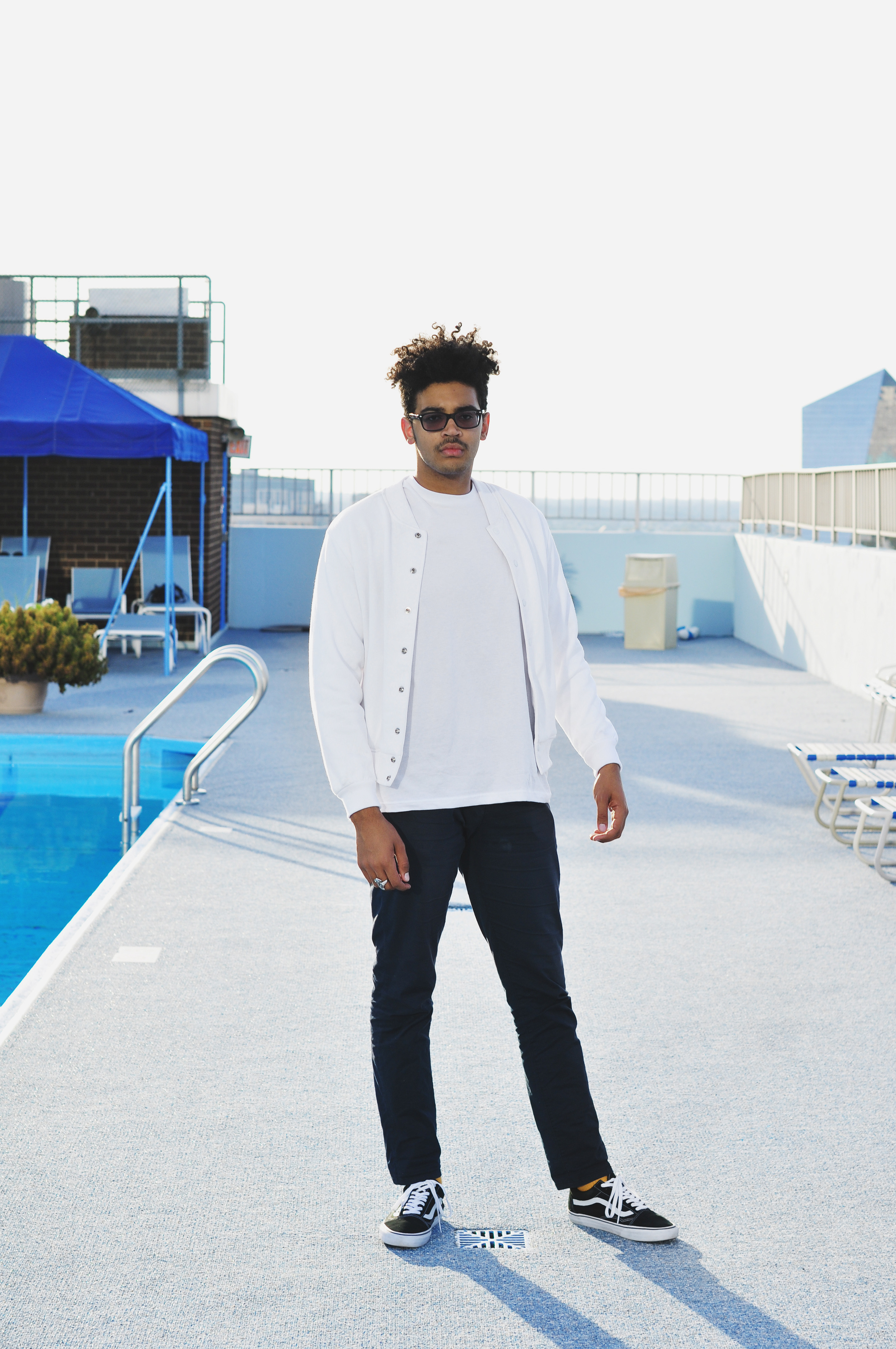 Michael Wolever for Thread Society. Featured Product: The Mens Club Jacket  (Photo by Shannon Adolt)