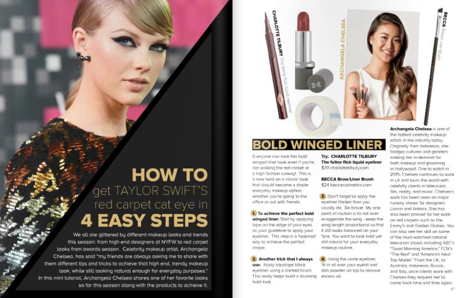 Modeliste Magazine Dec 2015 Issue
