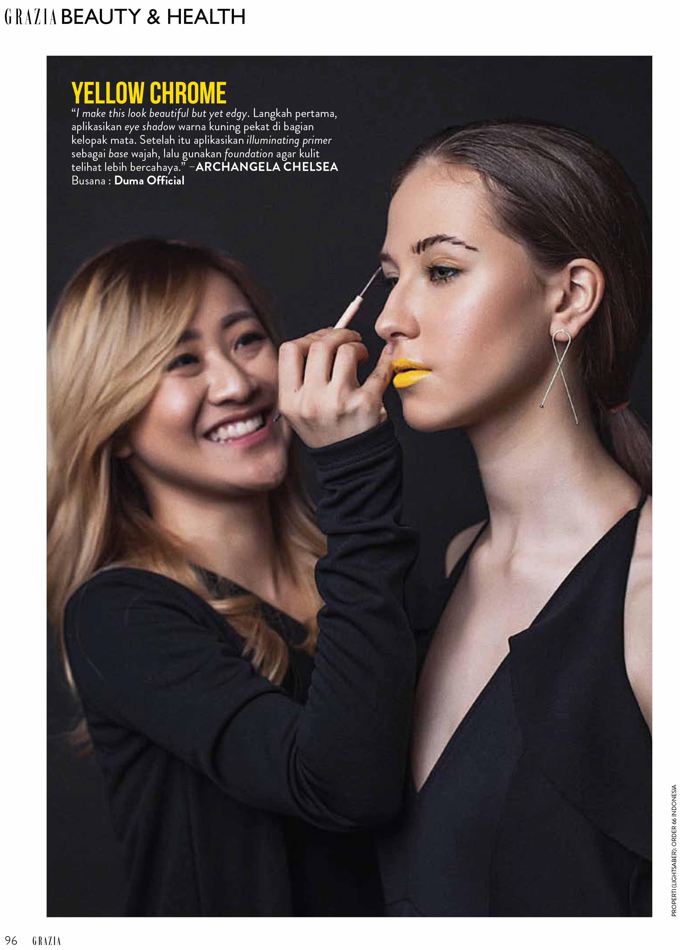 Grazia Magazine 2017 - Top 3 Makeup Artist