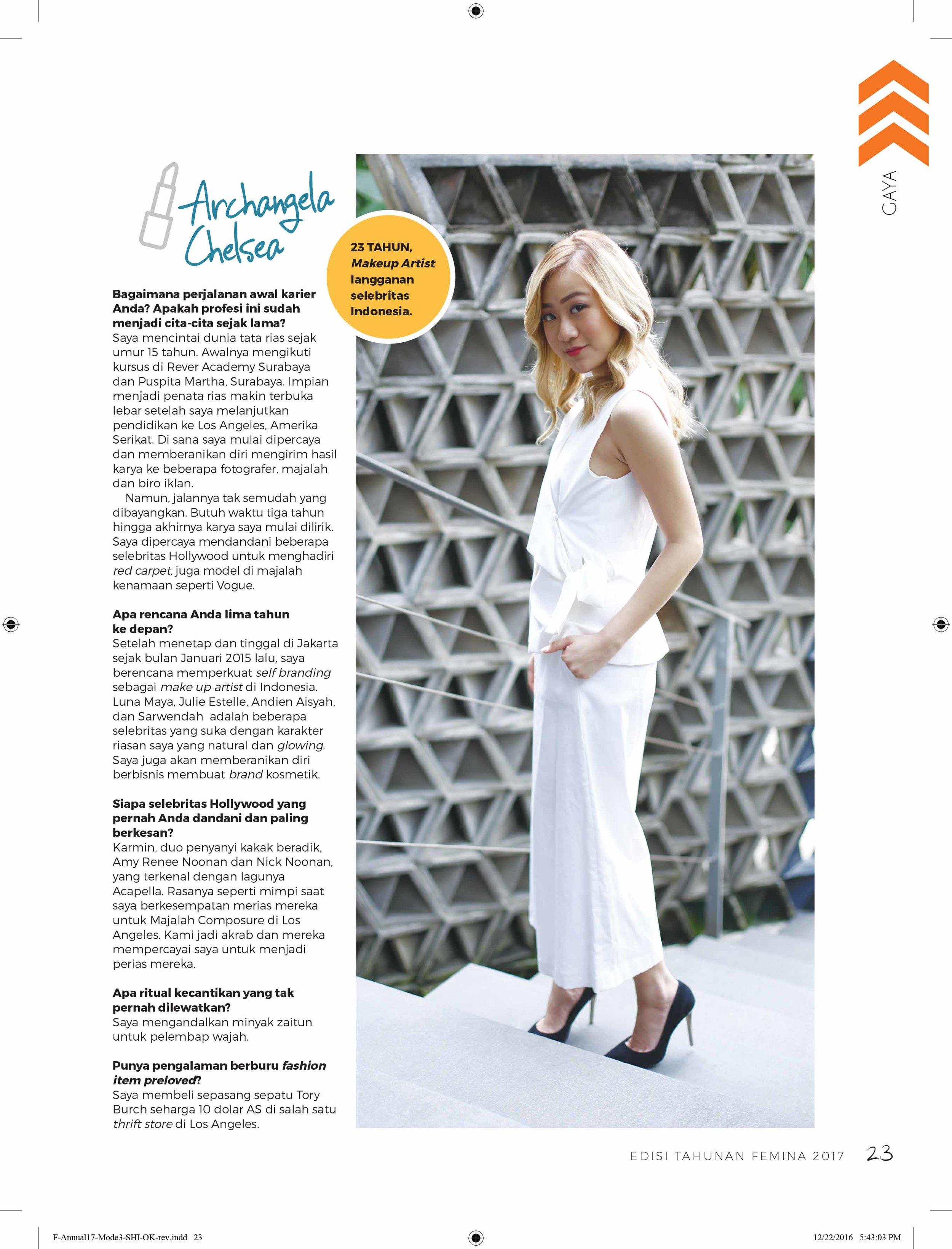 Femina Magazine January 2017