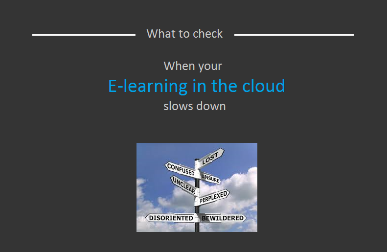 Slow internet and e-learning in the cloud - explained by In2itive