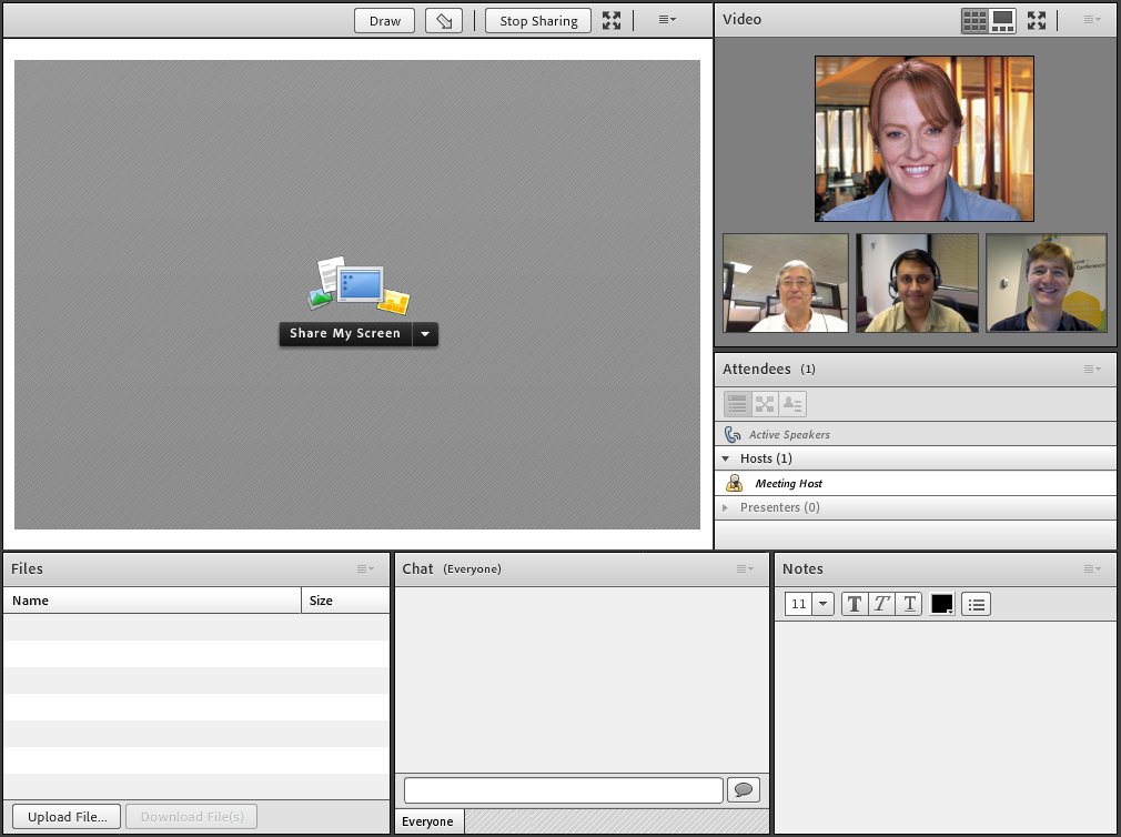 Virtual classrooms with In2itive LMS