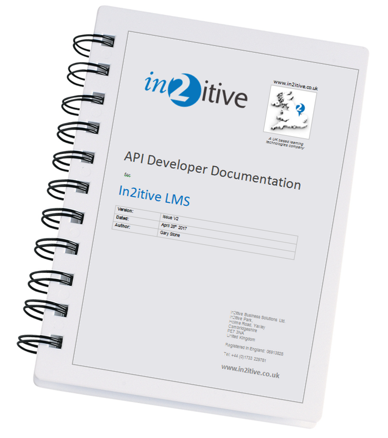 To request a copy of the LMS API developer documentation contact us by clicking the image