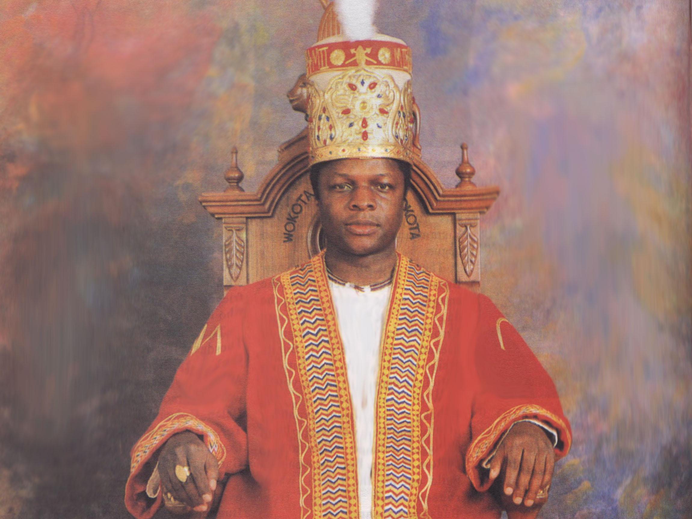 King of Buganda in Uganda
