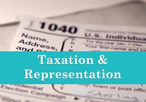Taxation and Representation CAS