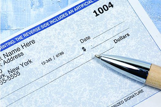 Payroll Services CAS_Check book