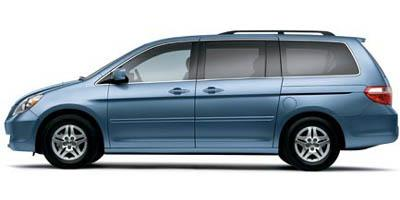 Behold, the beauty that is the 2005 Honda Odyssey.