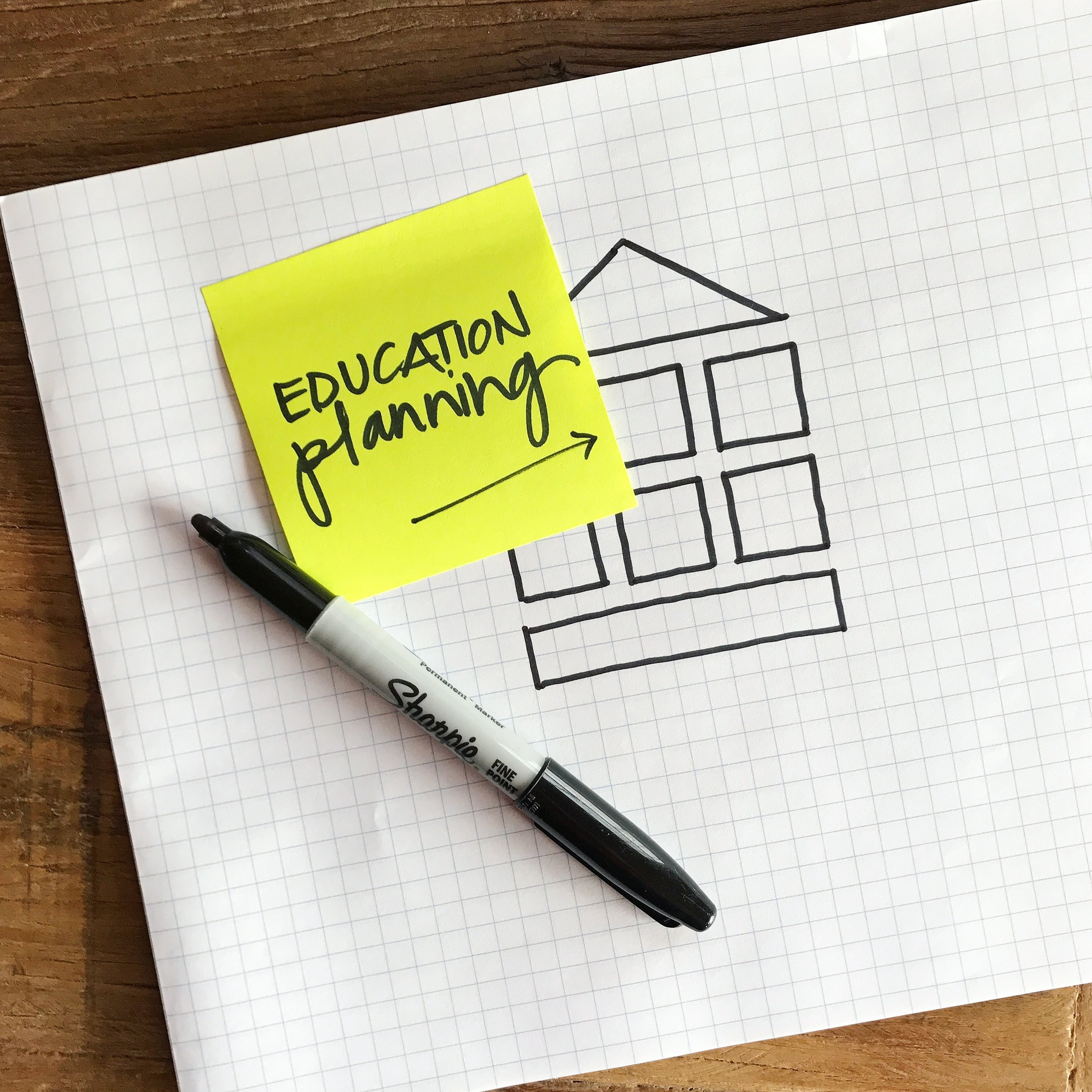 Education Planning   Education planning is more than just determining how much money you need to save for your child's education.    It is an ongoing conversation with your children about what is the best plan and path for their future earning potential.  Based on your preferences, we will build a strategy for your family.