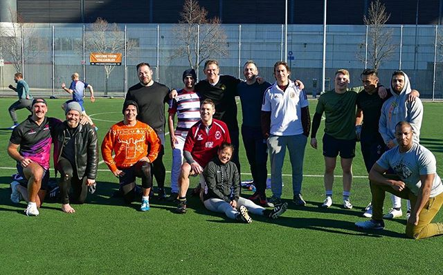Winter Touch Rugby returns tomorrow at 8am! Come join the lads of Gotham as they throw the ball around at Chelsea Waterside Park! Located at W. 23rd st and 11th Ave. Saturday Touch Rugby is open to ALL and invite any experienced or new players to come develop their passing skills or meet the Knights! Any questions do not hesitate to send us an email or DM! See you tomorrow! #igrugby #gothamrugby #unitetheempire #igr #touchrugby #winter #winterpractice