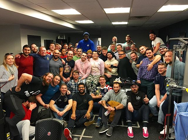 #TBT to #GothamRugby first meeting of 2019 a few weeks ago! The lads (and Lady) got together to discuss Play Offs, Road to Nationals, Gotham Golds spring season, and the @capcitycup! The Knights have an exciting few months planned ahead and we can't wait to get started! Interested in joining? Feel free to email and DM us!! #igrugby #gothamrugby #unitetheempire #igr