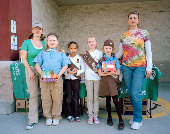 Group 011  Girl Scouts  (Jess to Gayle)