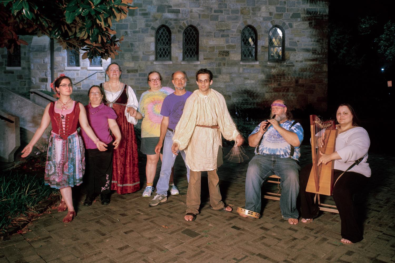 Thrir Venstri Fœtr   English Country Musicians and Dancers