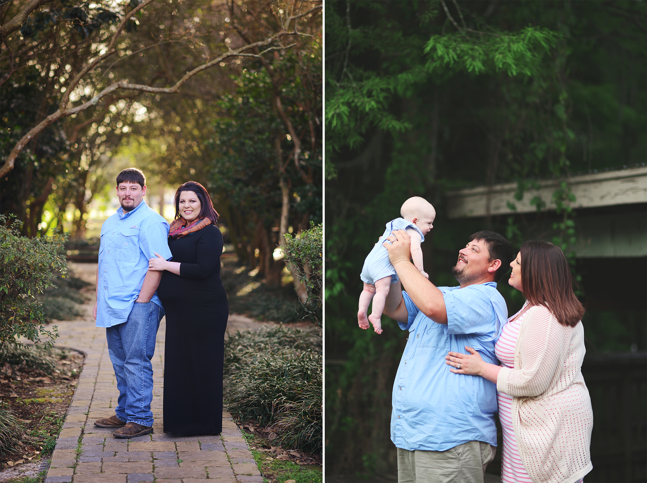 Danyelle said... - We absolutely LOVE working with Emily and have never been disappointed with our pictures! I love that she's capturing our baby boys growth from the beginning (maternity pics).