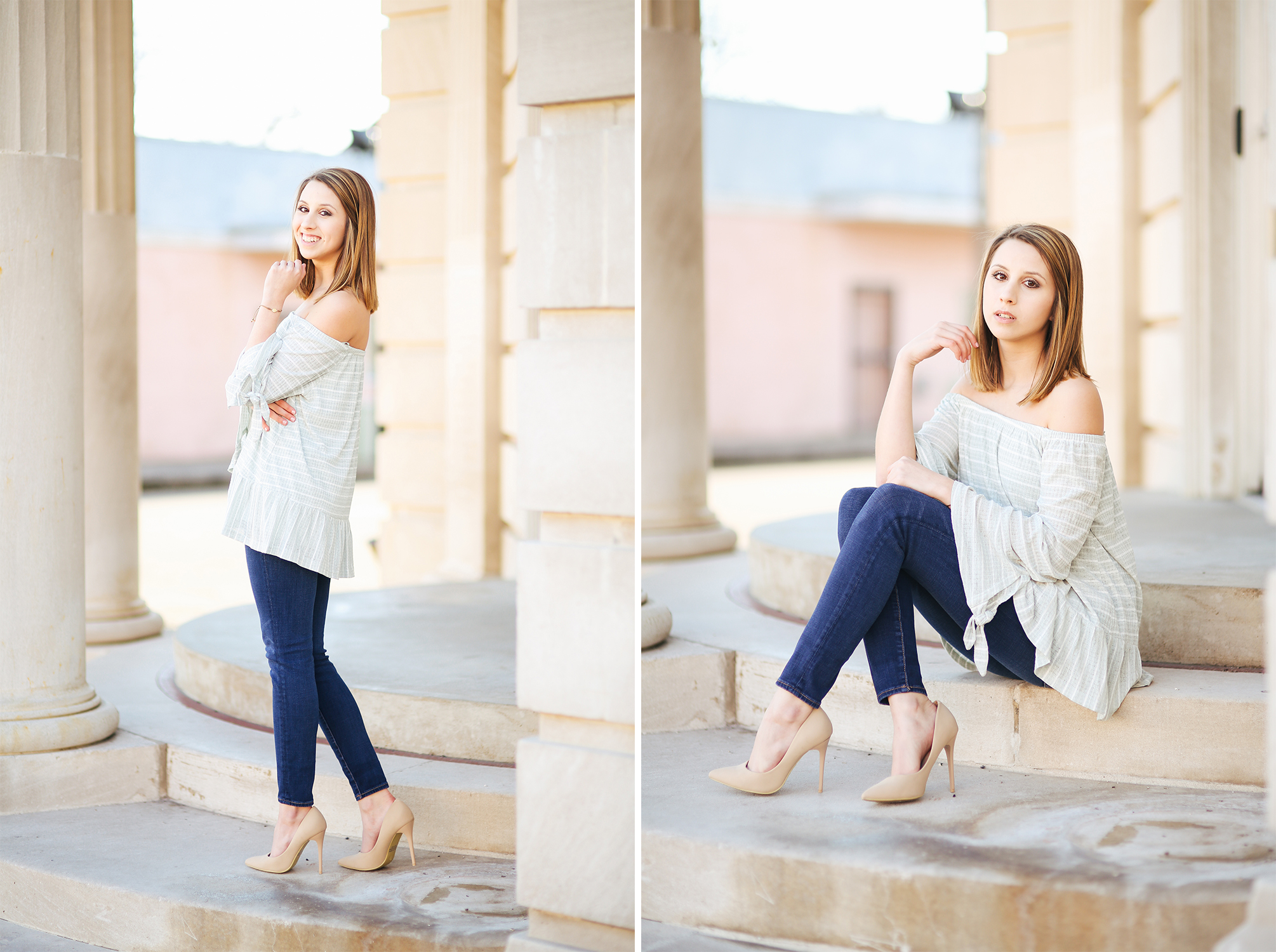 stevie said... - Emily was so much fun to work with, even if the weather wasn't too fun to be in! She definitely calmed my nerves just because of how easygoing her and her work was! Highly recommend!