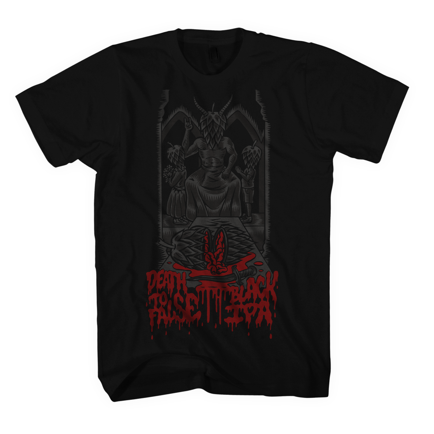 NCBC_DeathToFalseBlackIPA_Tshirt.png
