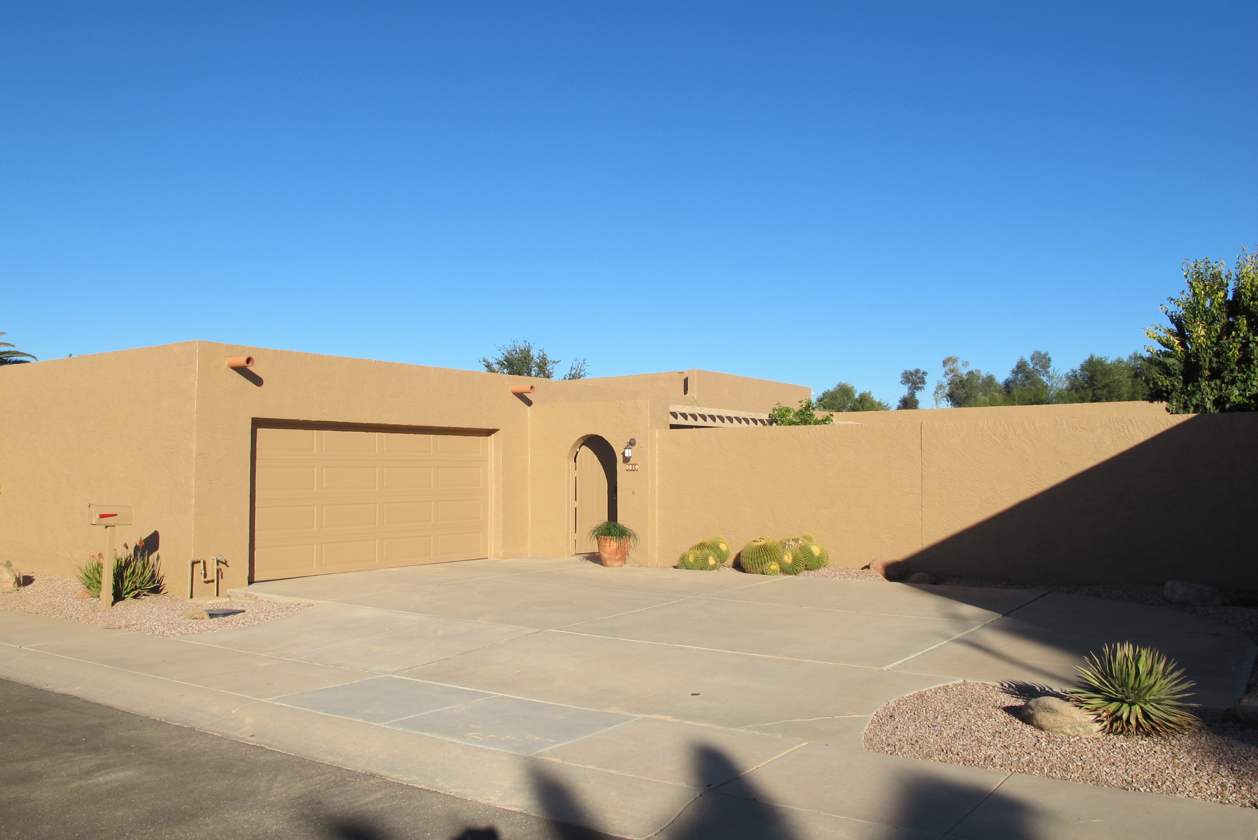 Final new exterior paint adds value