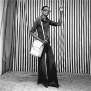Jeune Homme, Pattes D'elephant, Avec Sacoche et Montre, Malick Sidibé, 1977