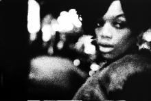 Hooker outside Ort's Golden Nugget, 2am, The Combat Zone, Boston, MA, Jerry Berndt, 1969.